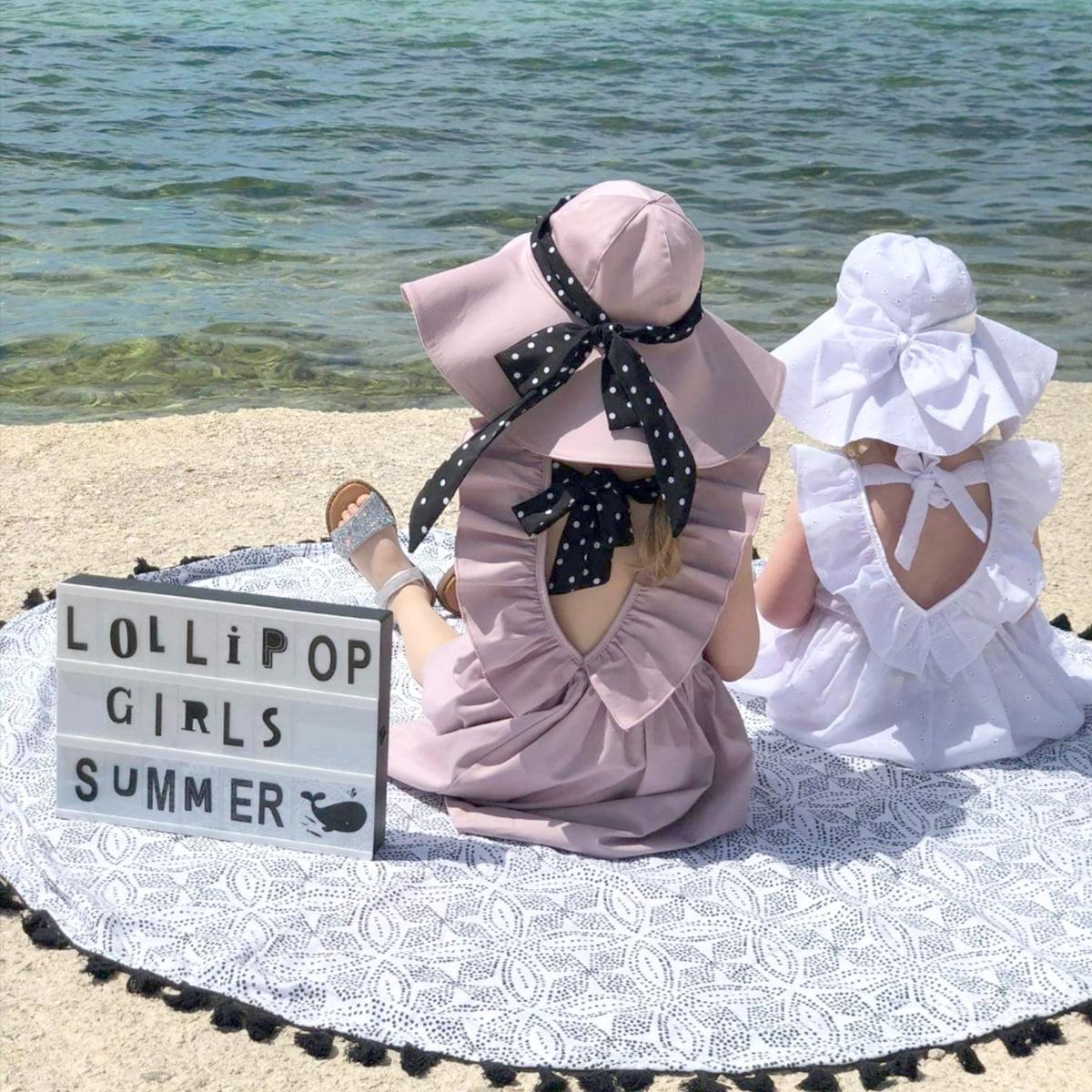ljetni kompleti Anđela šešir i haljina