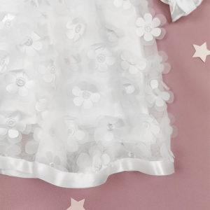 Aria haljina za krštenje sa cvjetićima