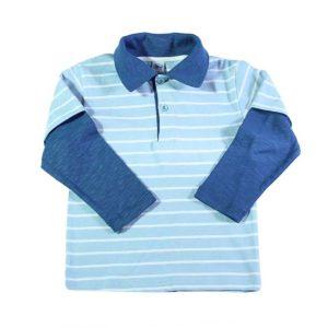 Baby blue polo majica za bebe i dječake