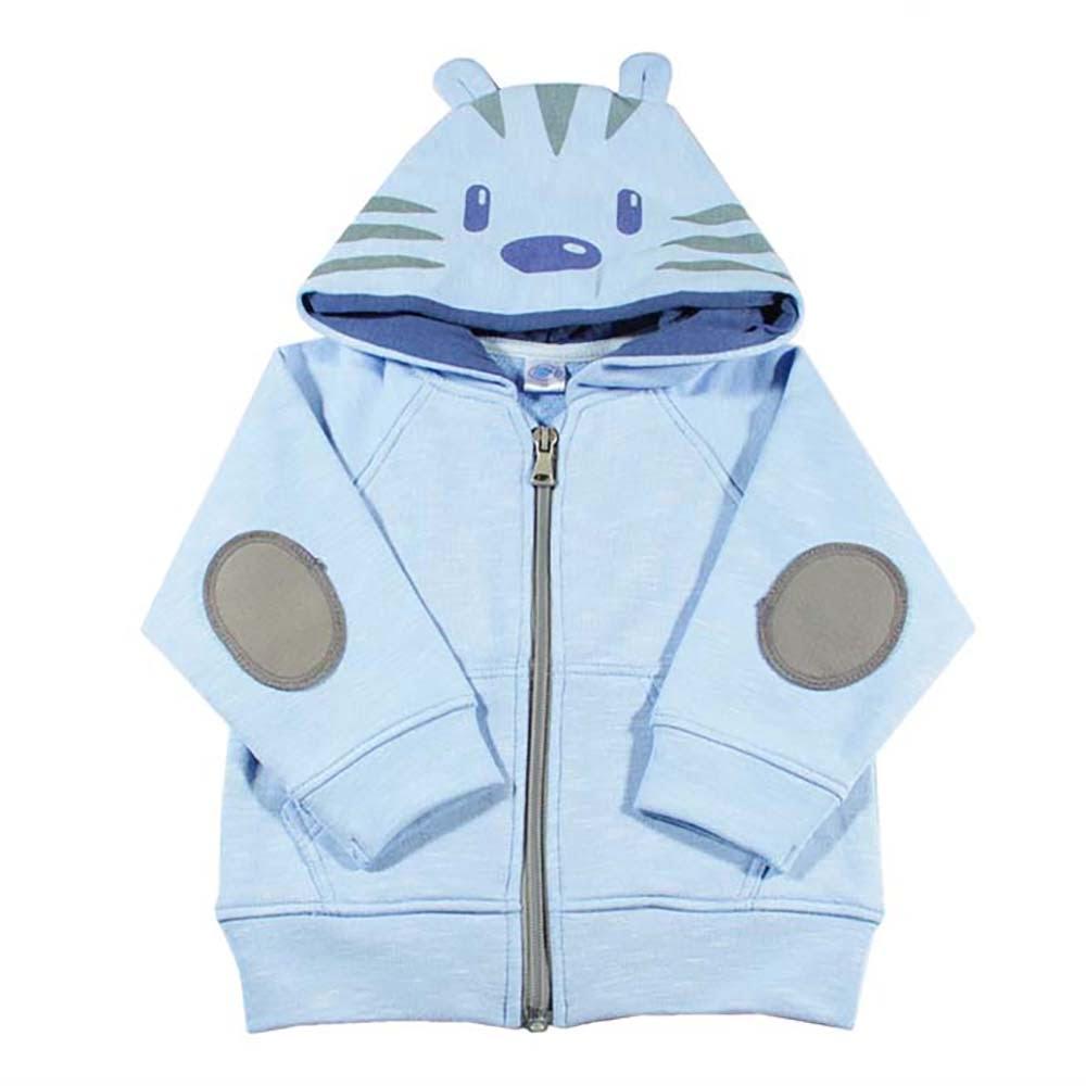 baby plavi hoodie tigrić