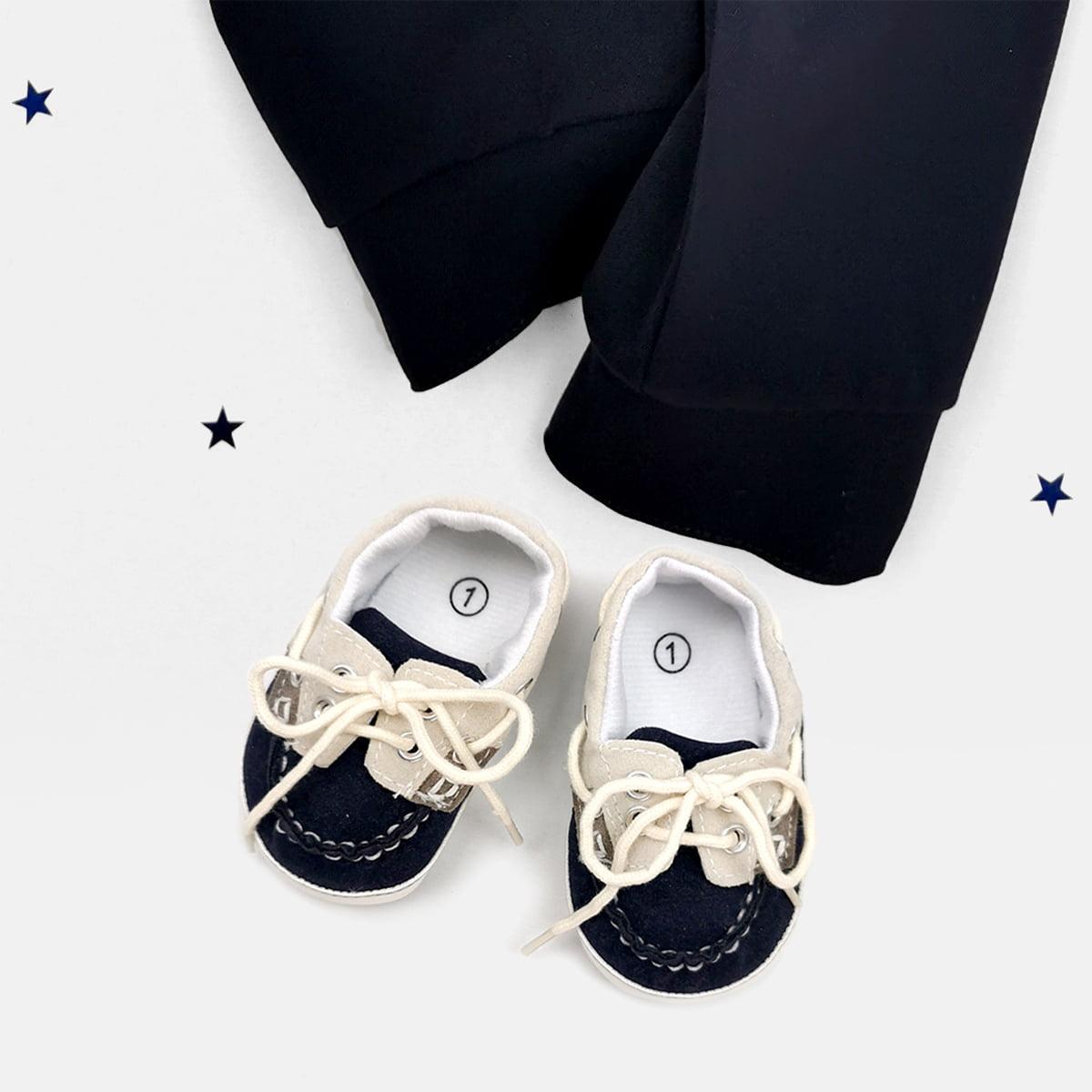 Smoking za bebe tamno plavi za krštenje