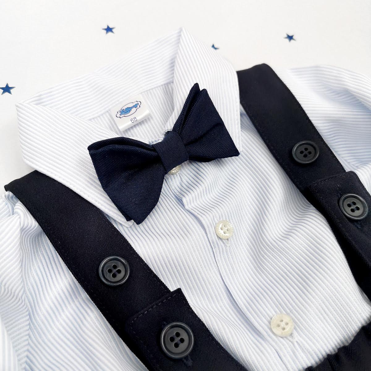 Tamno plavo odijelo za krštenje
