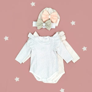 komplet za bebe bella daisy rozi i plavi