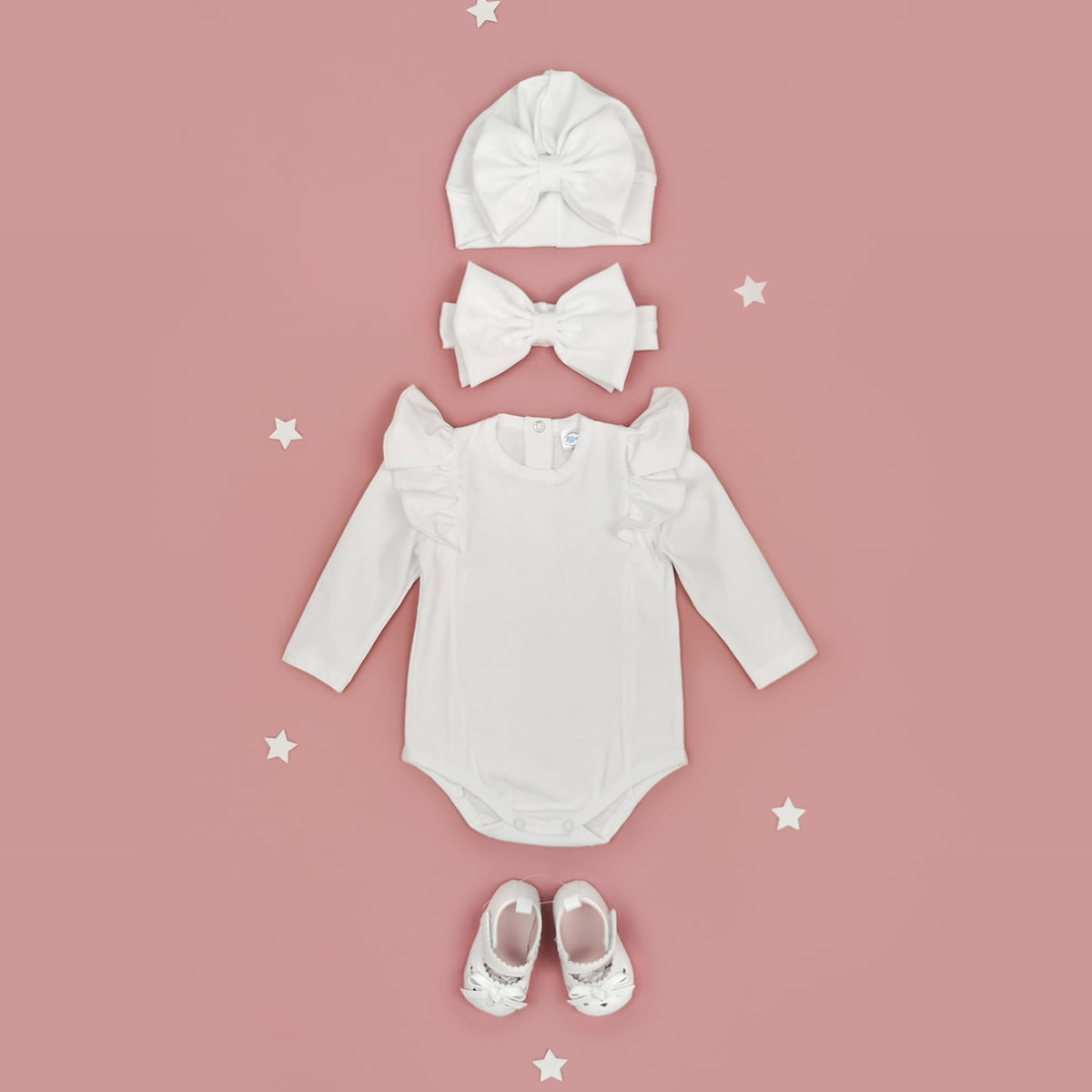 bijeli komplet bella za bebe