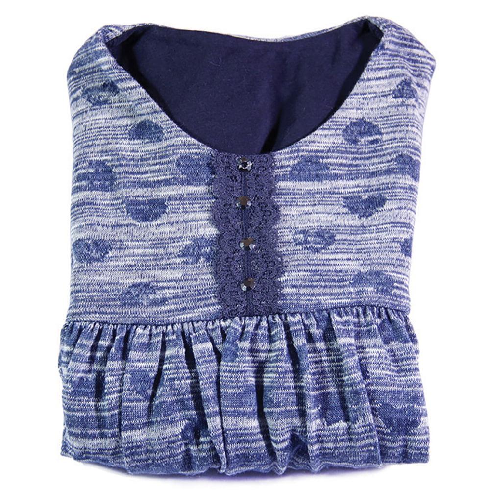 Blue hearts plava haljina za djevojčice