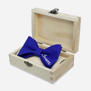 Peronalizirana leptir mašna u poklon kutiji
