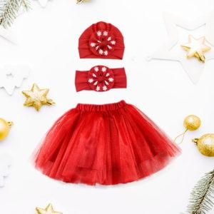 božićni crveni komplet red princess