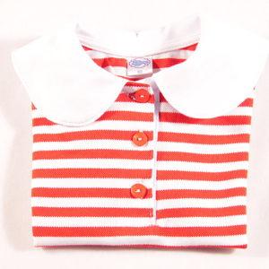 majica s bijelom bubi kragnom