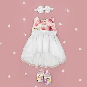 cherry blossom haljina s trakicom