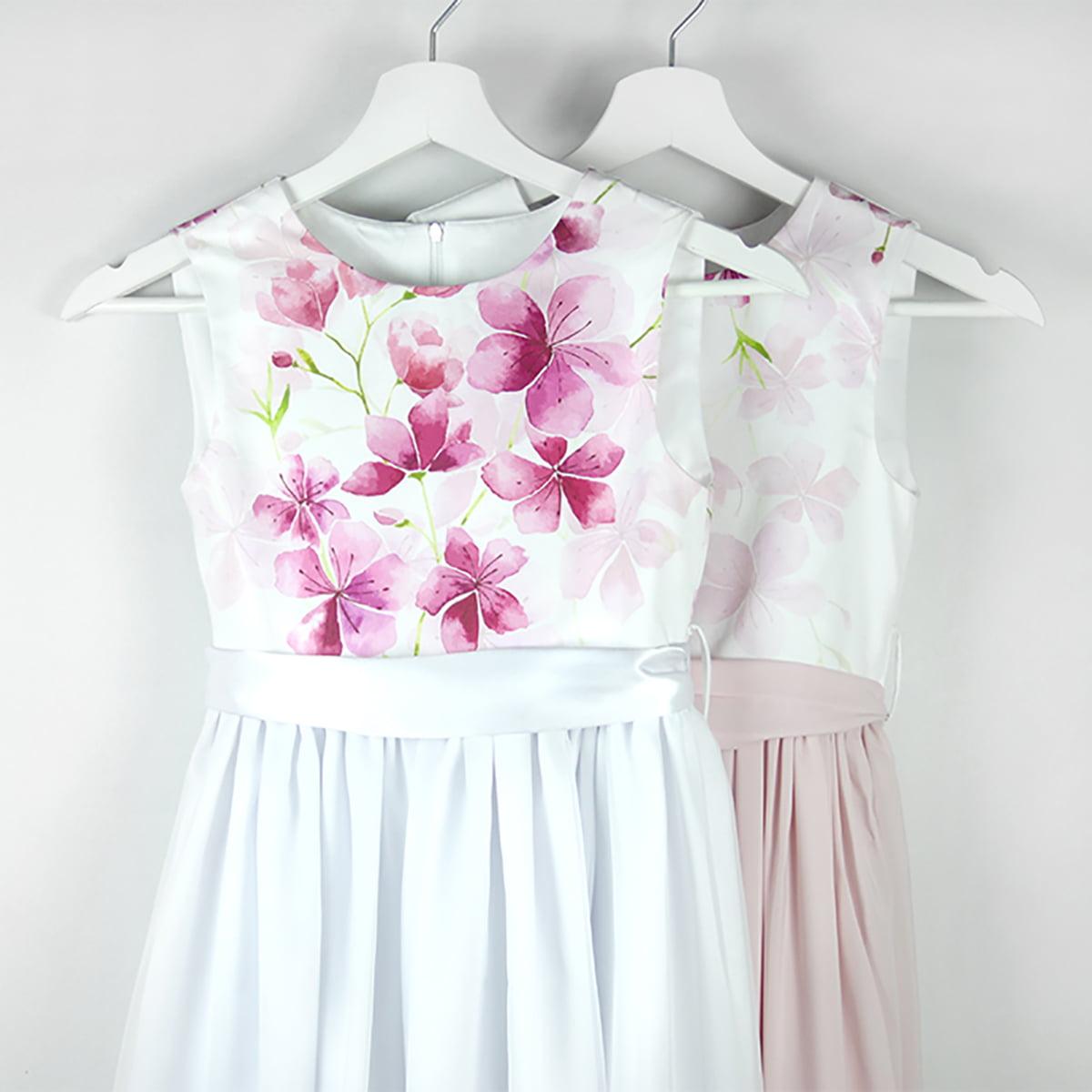 cvjetni print cherry blossom haljina