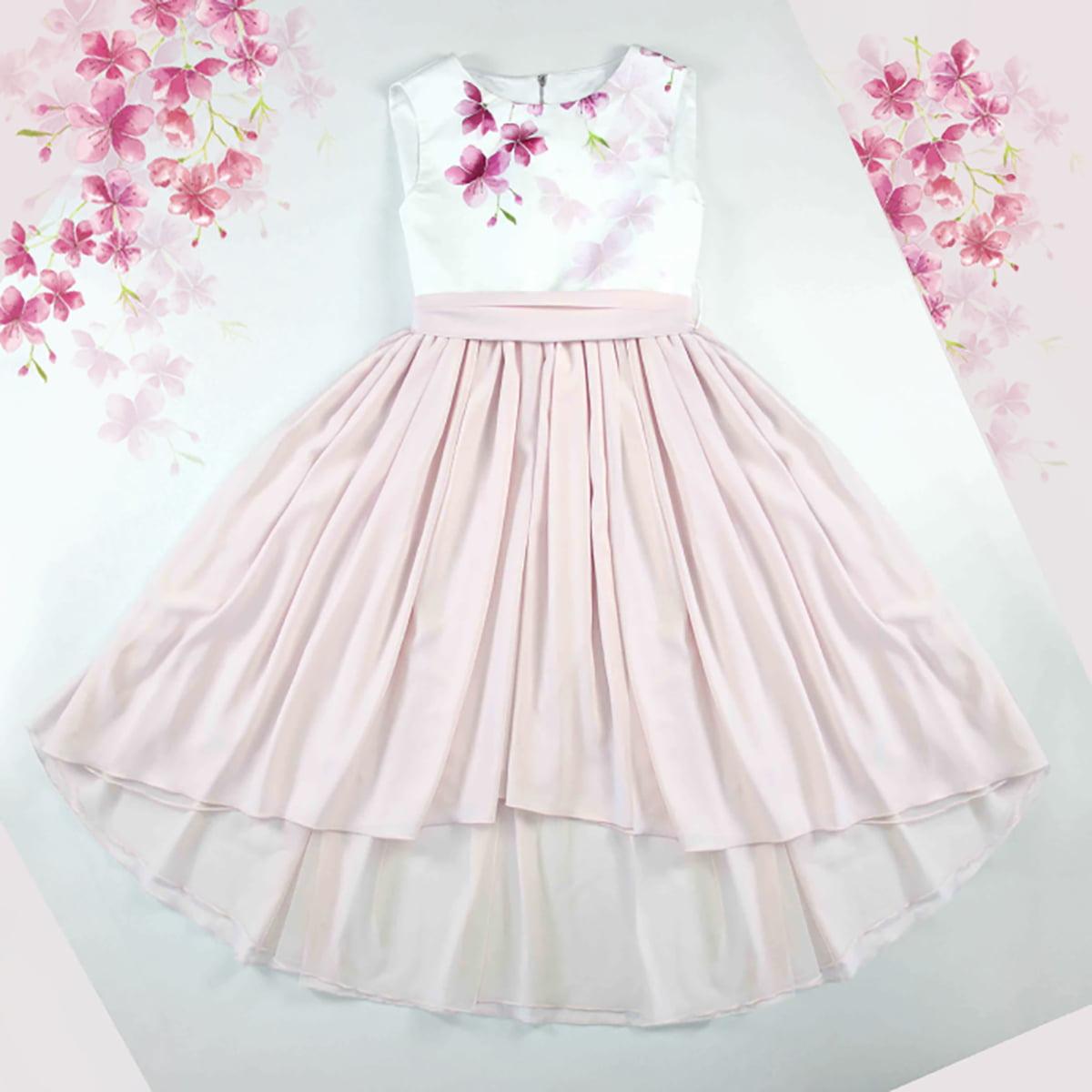 svečana cherry blossom haljina