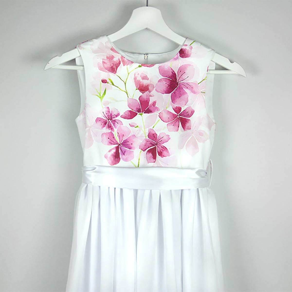 printana bijela haljina cherry blossom