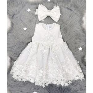 bijela haljina chiara s trakicom