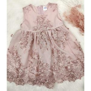 roza chiara haljina