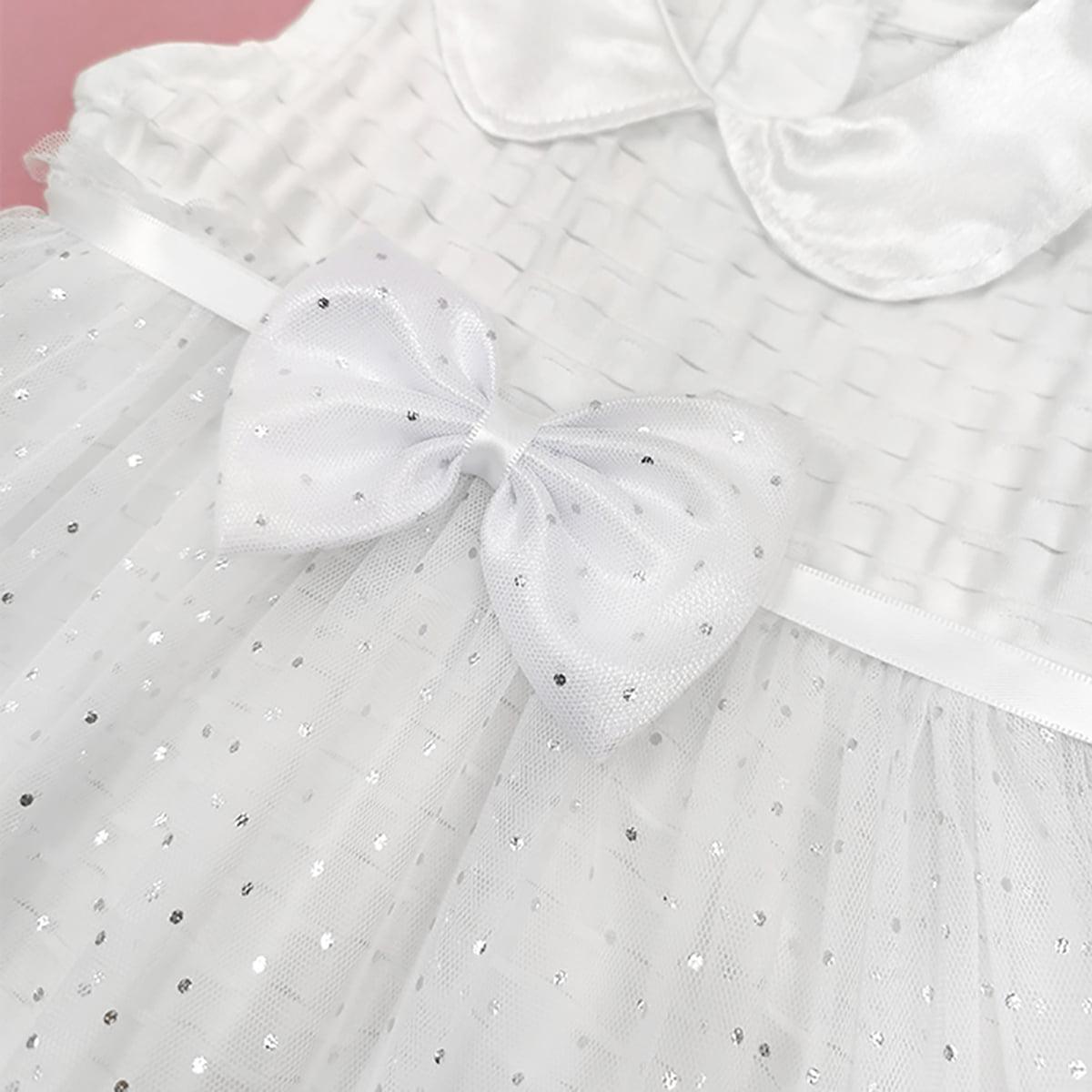 Chole haljina za krštenje bez rukava