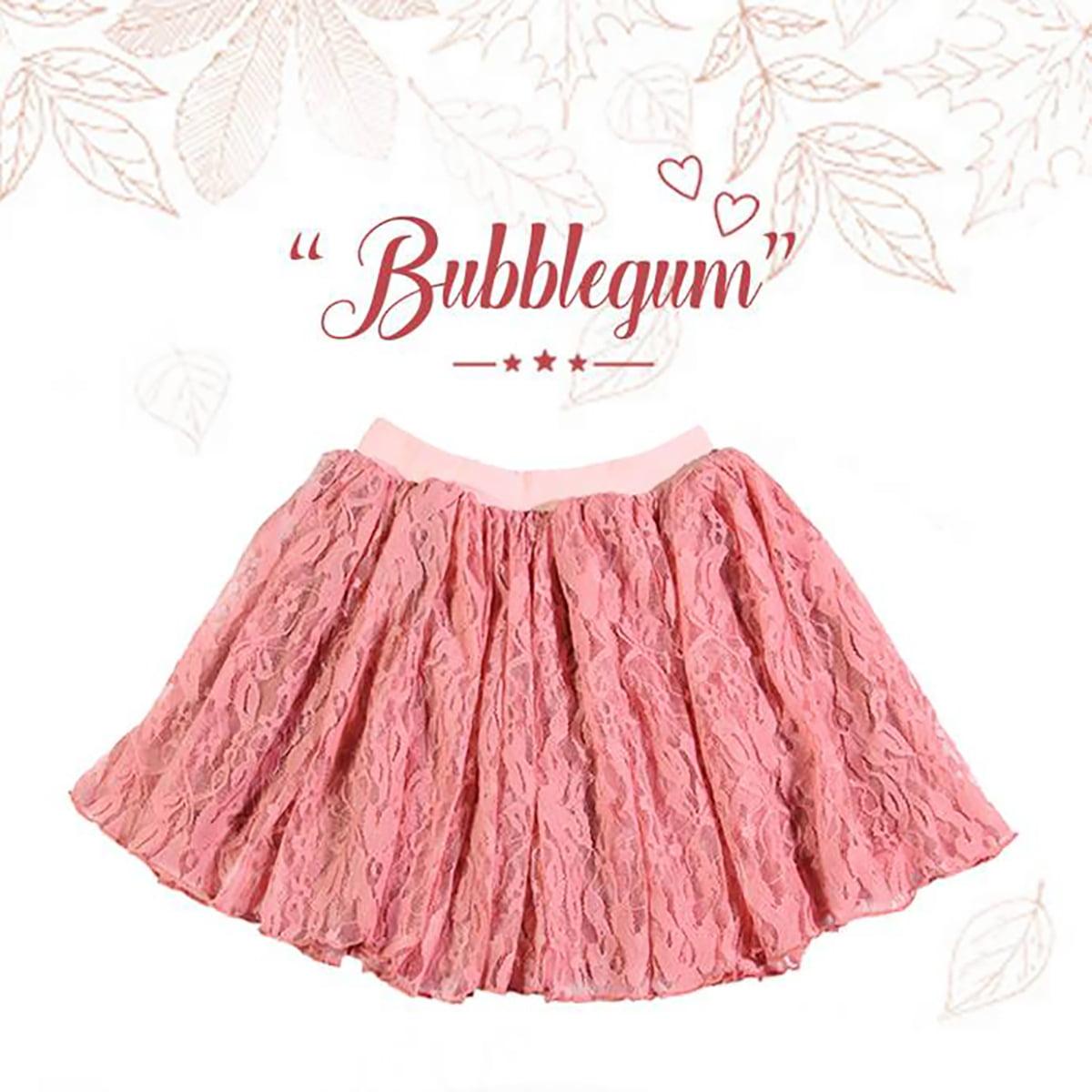bubblegum lepršava roza suknja