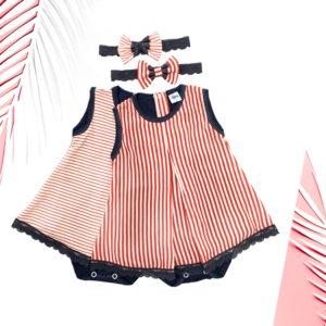 Dva uzorka Coco marin bodi haljine