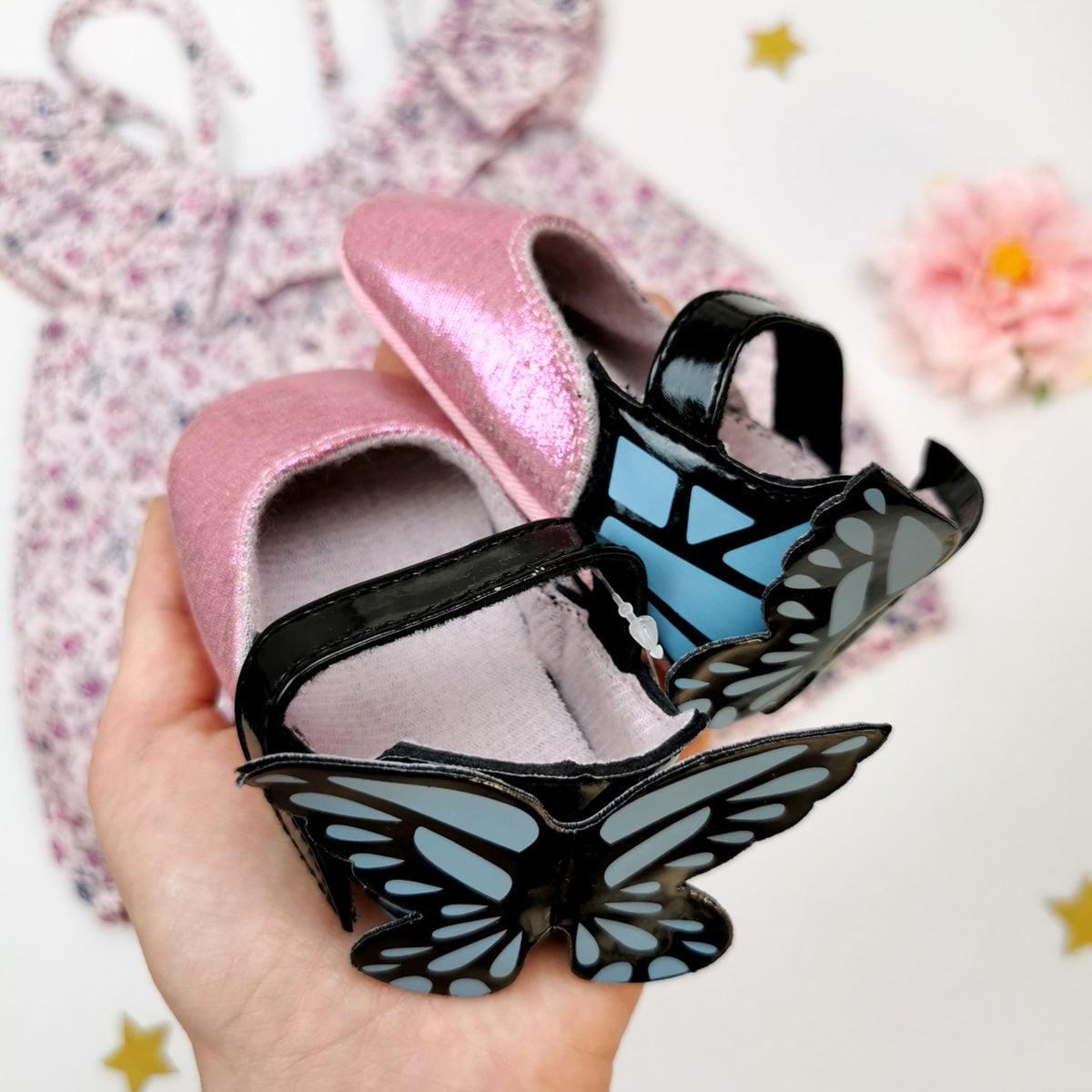 cipelice s leptirićima za bebe nehodaće
