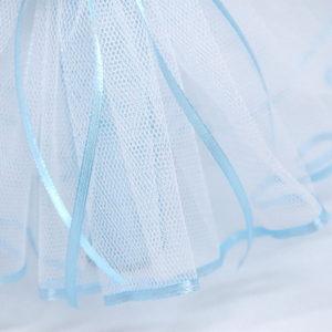 bogata til suknjica na plavo bijeloj svijeći Diamond heart
