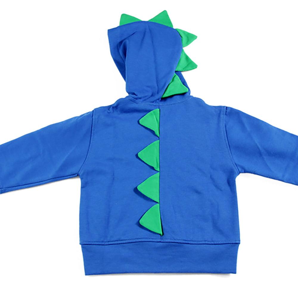 dino plava trenirka sa zelenim bodljama
