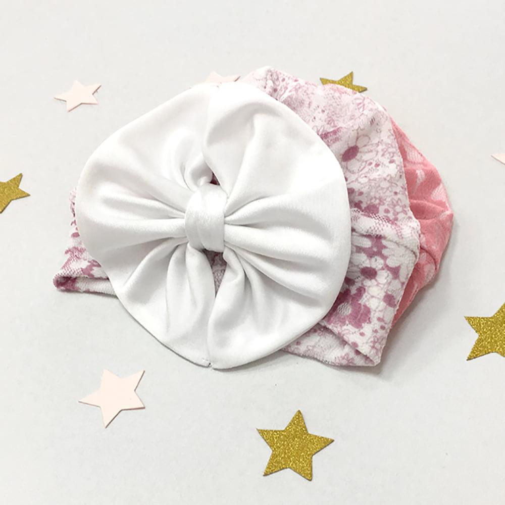 cvjetna diva kapica turban za novorođenčad i male bebe
