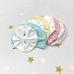 kolekcija diva kapica turbana za male bebe