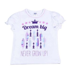 dream big majica za bebe s printom