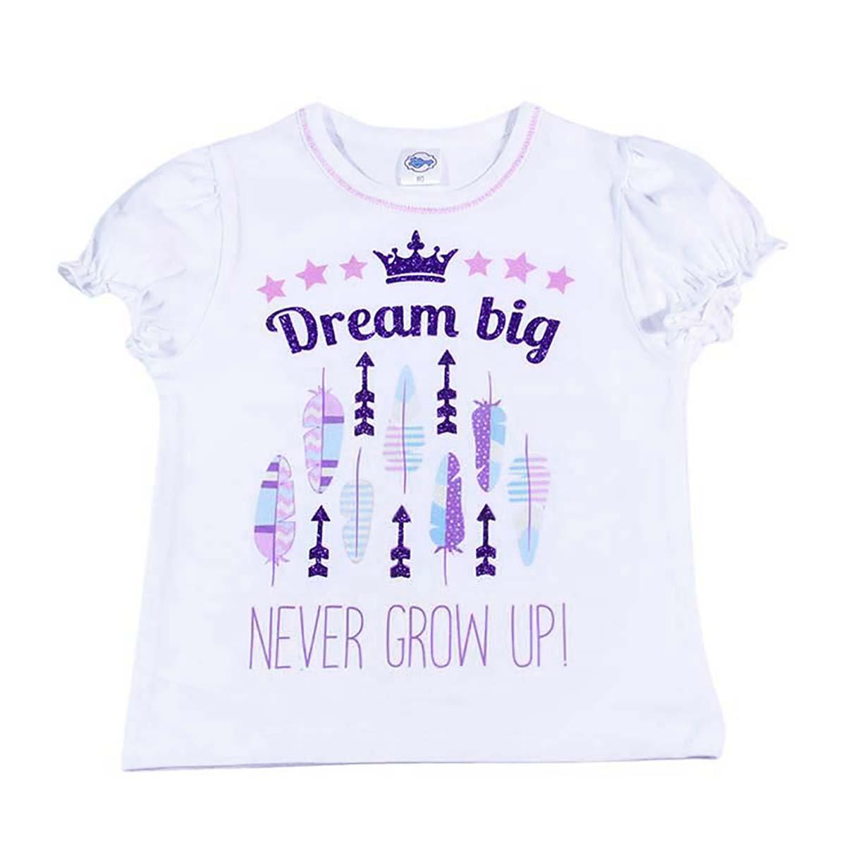 dream big majica za bebe s printom