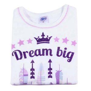 dream big majica s printom i glitterom