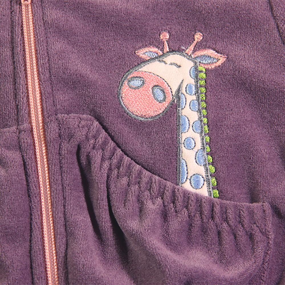 žirafa u džepu dječje trenirke