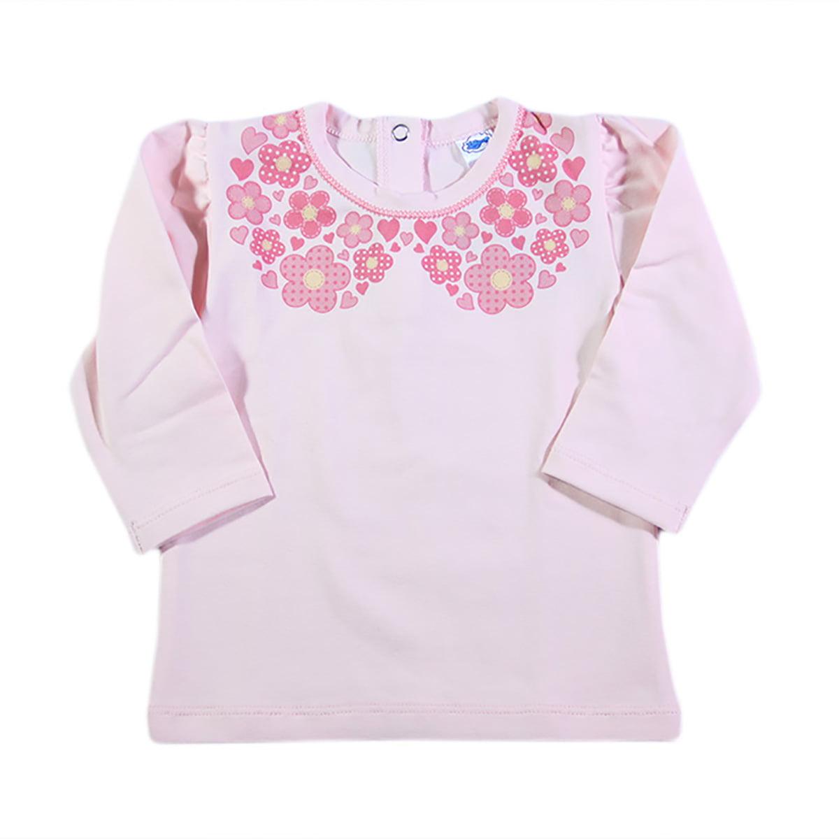 Majica Floral kragnica za bebe
