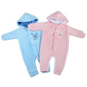 Zimski topli kombinezoni za novorođenčad