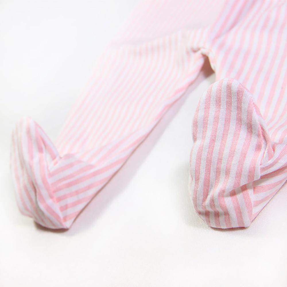 Gege sa stopalicama bijelo roze