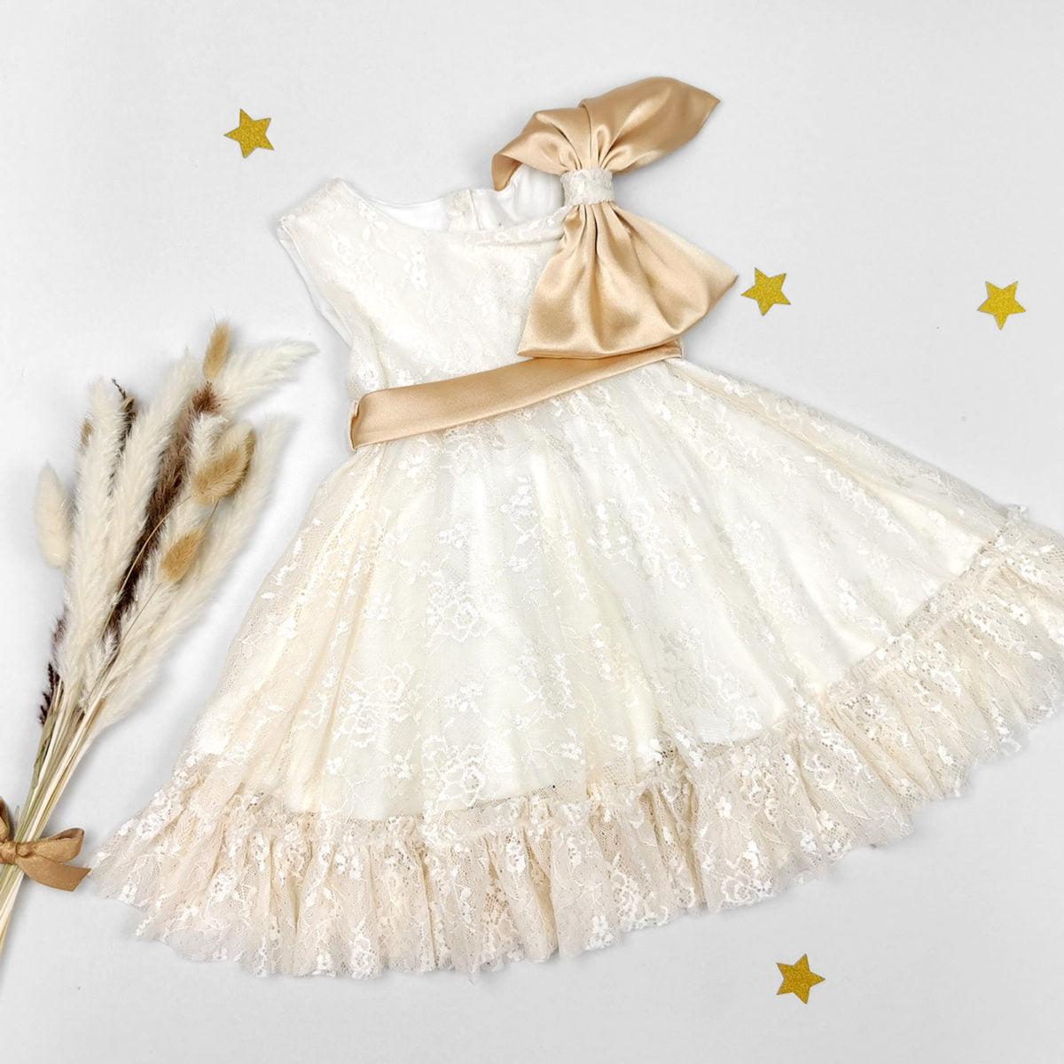 haljina Goldie sa zlatnim detaljima