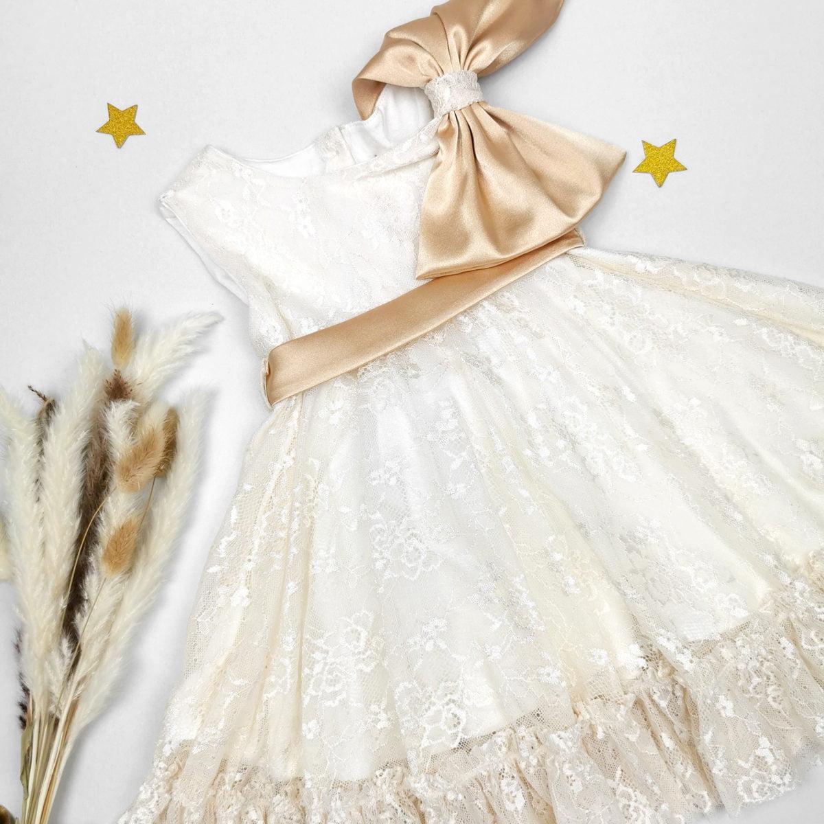 haljina Goldie za krštenje i prve rođendane