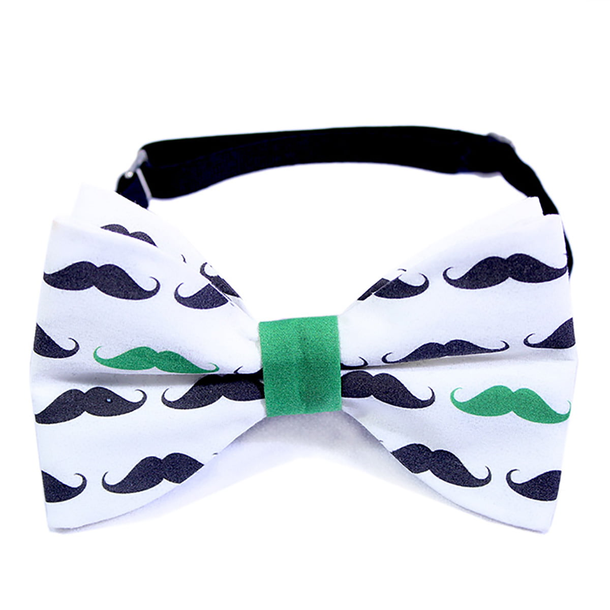Green mustache dječja leptir mašna