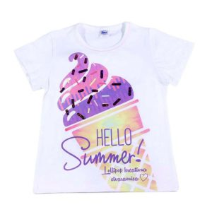Hello summer dječja majica sladač