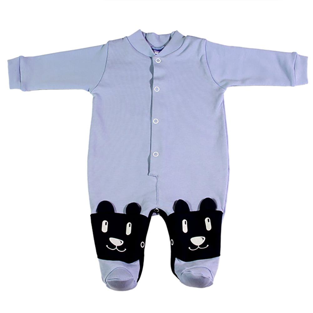 Svijetlo plavi kombinezon za novorođenčad