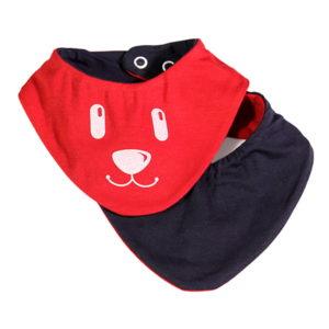 Crvena slinček maram komplet s kombinezonom