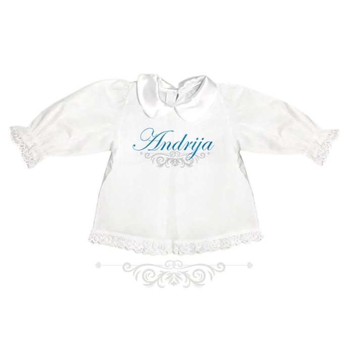 personalizirana krsna košuljica za dječaka