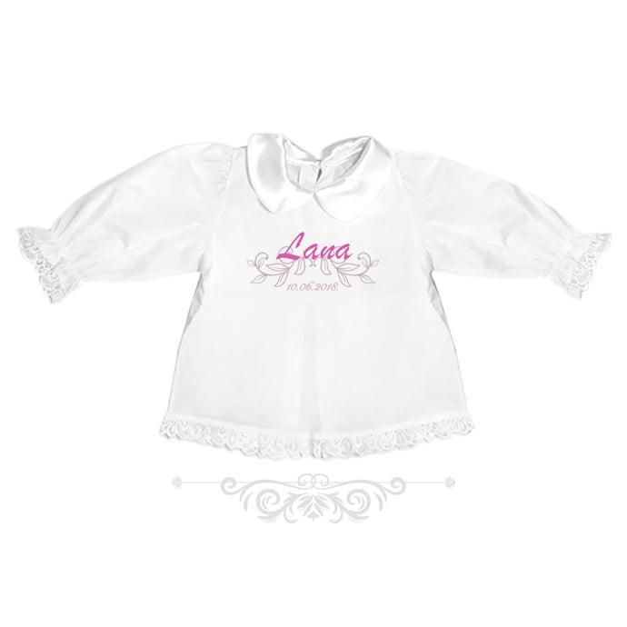 personalizirana krsna košuljica za djevojčice