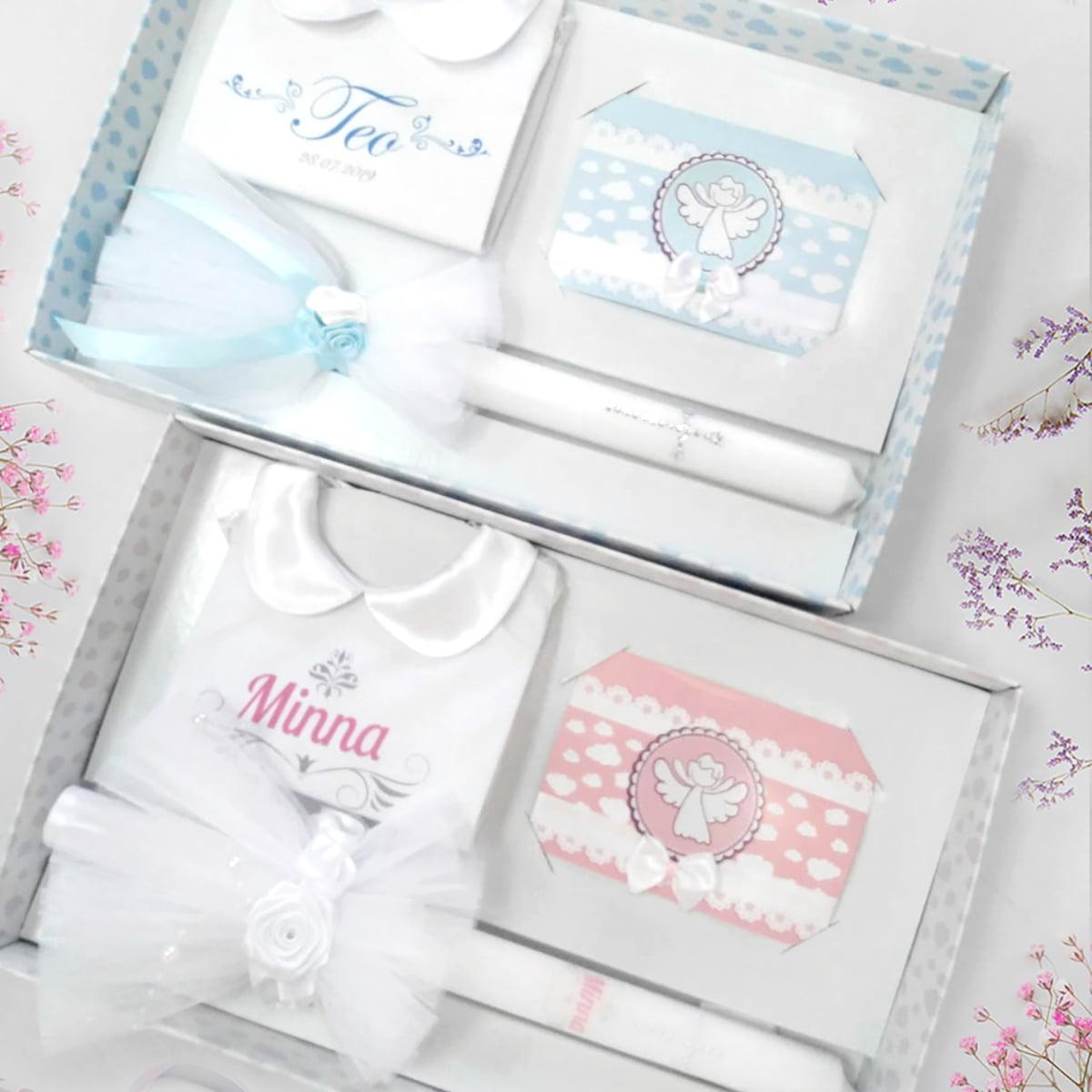 personalizirane košuljice u setu za krštenje
