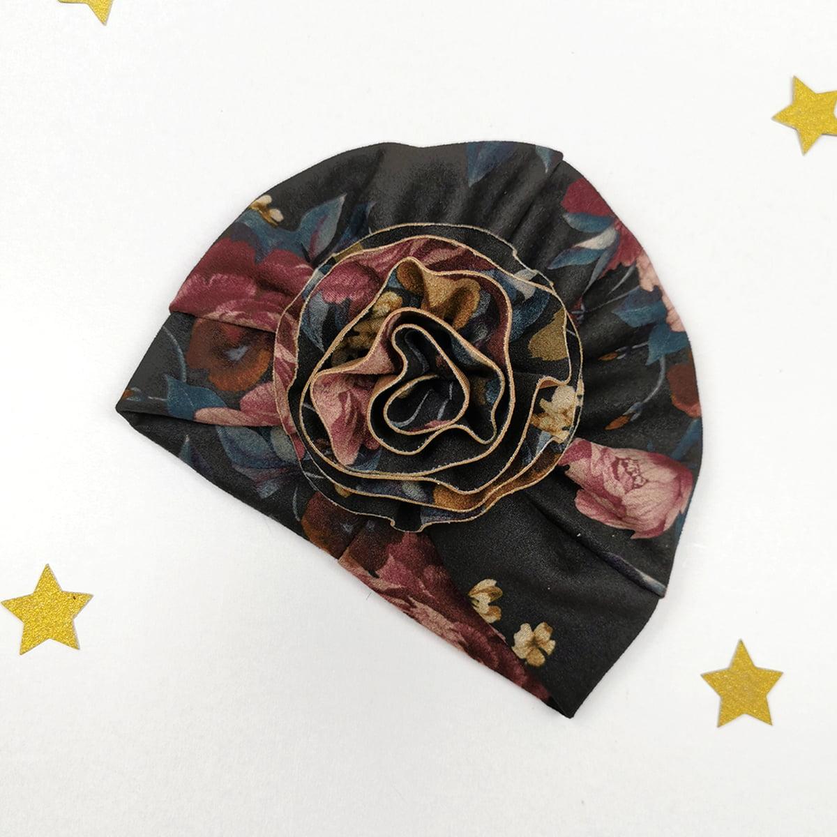 cvjetni lady turban za bebe, djevojčice i mame