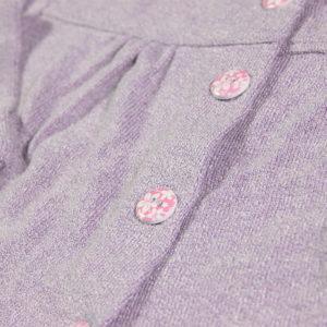 šareni gumbići lavander baby vestice