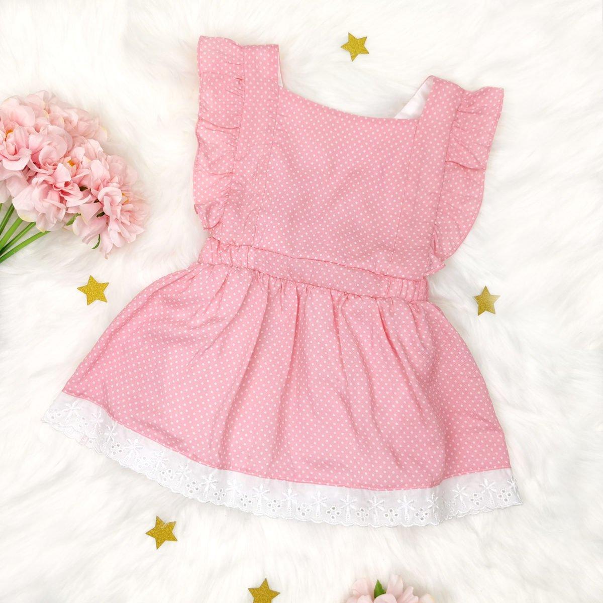 light pink bodi haljina s prednje strane