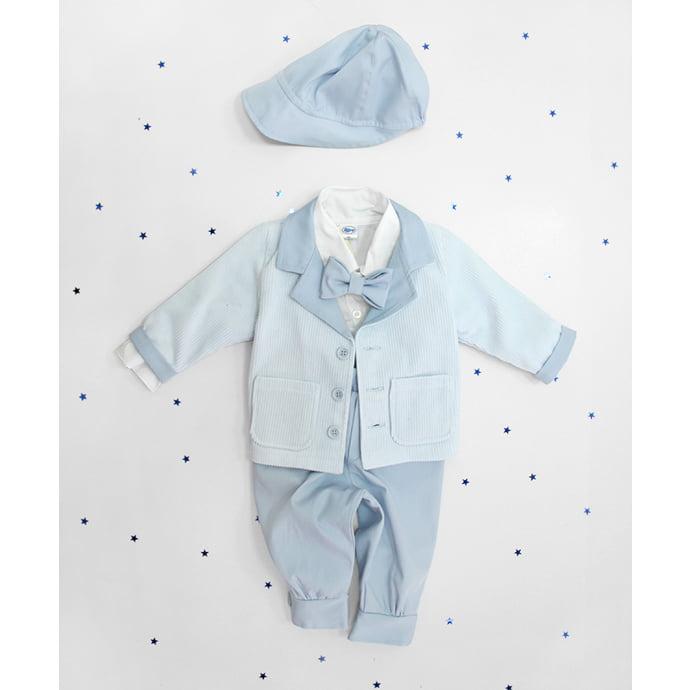 krsni komplet za dječaka Mr. blue sky