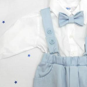 little gentleman svijetlo odijelo za krštenje