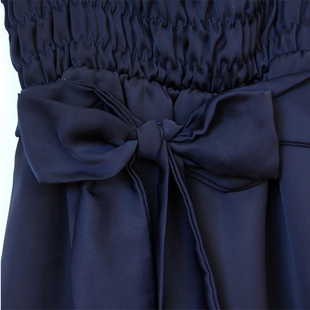 satenska mašna na little princess haljini
