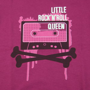 little rock 'n' roll print