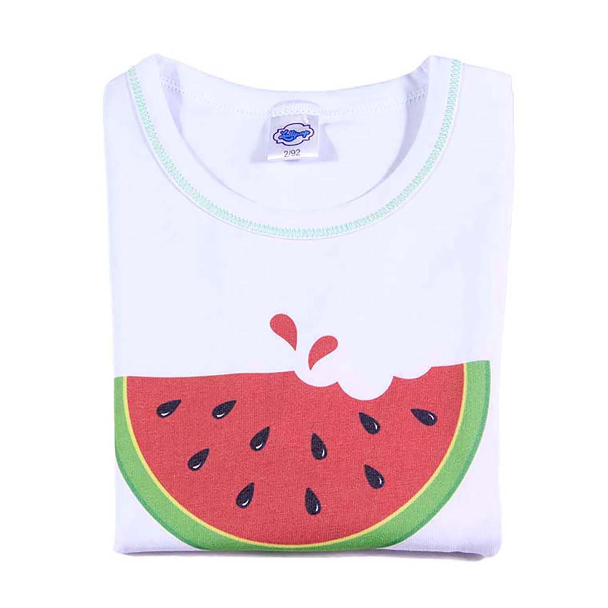 print lubenice na bijeloj majici